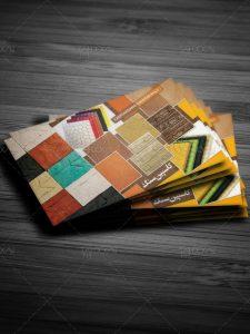 دانلود طرح آماده کارت ویزیت فروشگاه سنگ PSD لایه باز فتوشاپ