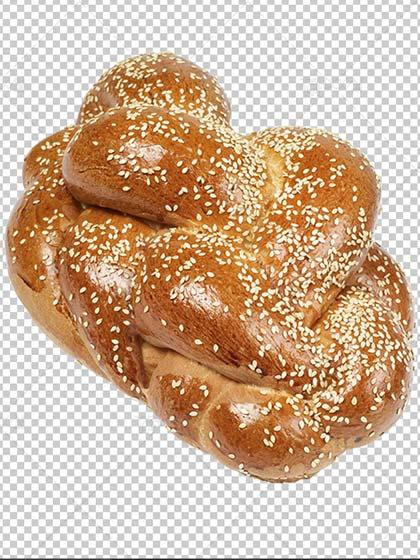 عکس دوربری شده نان شیرین
