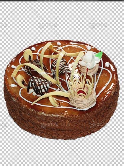 عکس کیک شکلاتی PNG