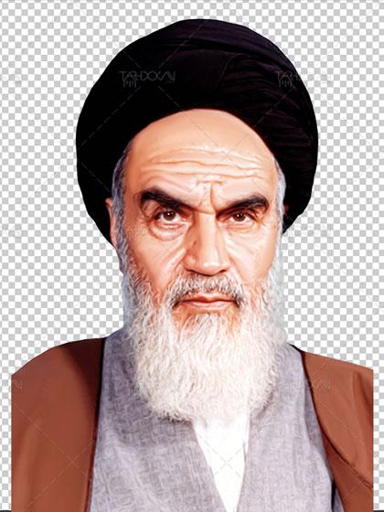 دانلود عکس دوربری امام خمینی