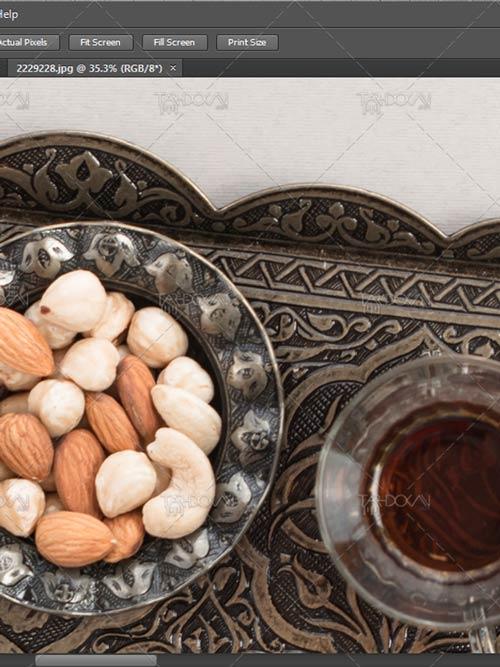 عکس پس زمینه ماه رمضان