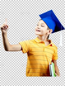 تصویر دوربری دانش آموز فایل PNG شاتر استوک با کیفیت بالا و سایز بزرگ