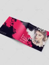 طرح بروشور کاتالوگ مزون عروس ایرانی 24 صفحه ای چند منظوره PSD لایه باز