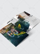 بروشور کاتالوگ لوازم ورزشی ایرانی 20 صفحه ای PSD لایه باز چند منظوره