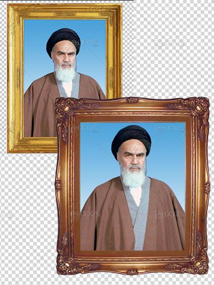 طرح قاب عکس امام خمینی