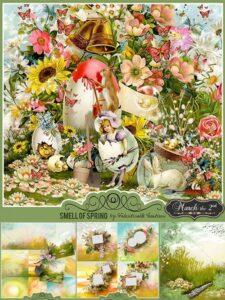 دانلود مجموعه تصاویر فصل بهار دور بری PNG با کیفیت بالا