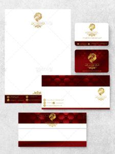 طرح ست اداری فروشگاه و تولیدی مبلمان کامل و فارسی PSD لایه باز