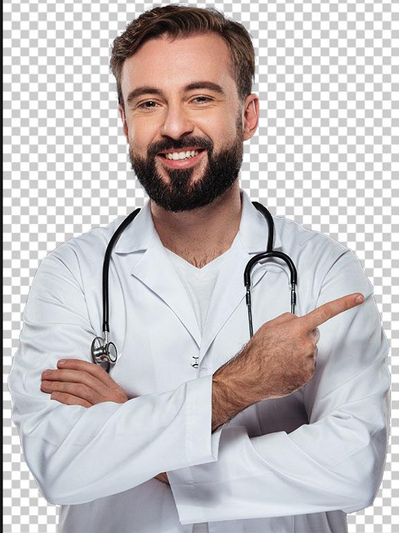 عکس پزشک ایرانی مرد