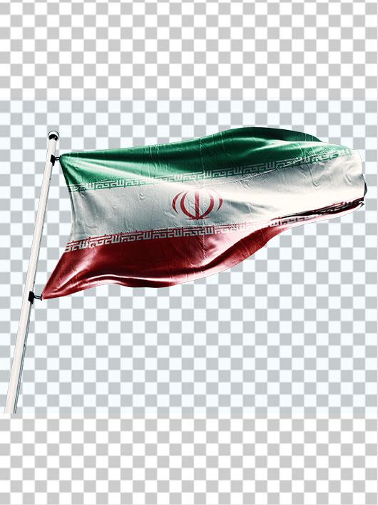 دانلود تصویر پرچم ایران PNG