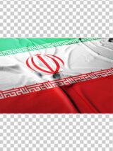 عکس پرچم ایران پهن شده روی زمین با کیفیت بسیار بالا